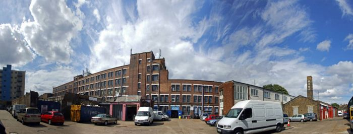 Bussey Building panorama: photo Nick Woodford