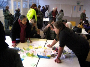 Aylesham Centre development site community led workshop