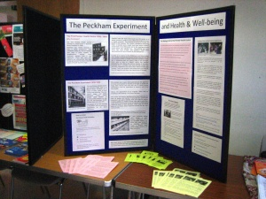 PEX display at Peckham & Nunhead CC meeting