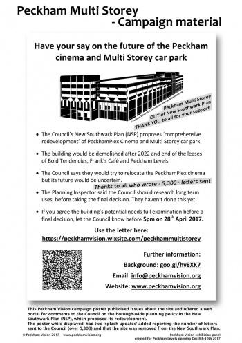 Multi-Storey Car Park - Peckham Vision